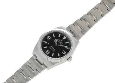 View 4. Thumbnail of Lot 98. ROLEX   REFERENCE 214270 EXPLORER A STAINLESS STEEL AUTOMATIC WRISTWATCH, CIRCA 2019.
