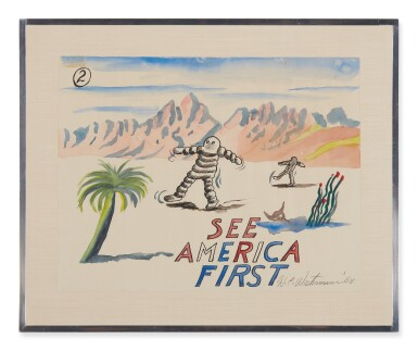 H. C. WESTERMANN   SEE AMERICA FIRST