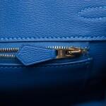 Hermès Mykonos Birkin 25cm of Matte Mississippiensis Alligator with Gold Hardware