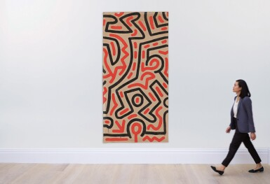 View 3. Thumbnail of Lot 56. KEITH HARING   UNTITLED.