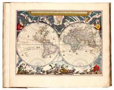 View 2. Thumbnail of Lot 296. Keulen. De Groote Nieuwe Vermeerderde Zee-Atlas ofte Water-Werelt. 1685, fine hand-colouring.