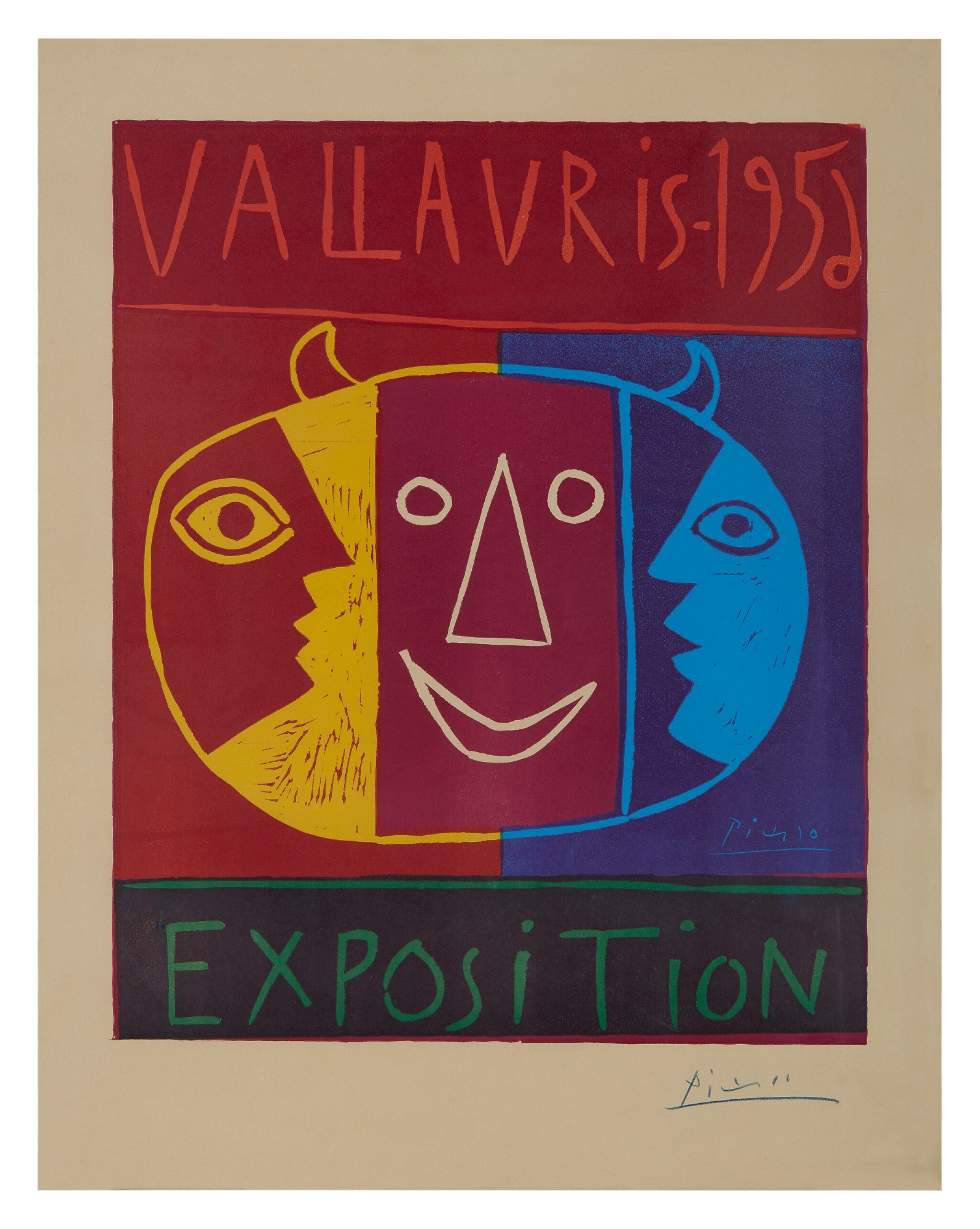 View full screen - View 1 of Lot 4. PABLO PICASSO | VALLAURIS 1956 EXPOSITION (B. 1271; BA. 1042; CZWIKLITZER 19).