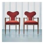 """Pair of """"Coeur"""" Armchairs"""