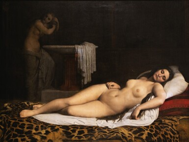 View 1. Thumbnail of Lot 69. The odalisque.