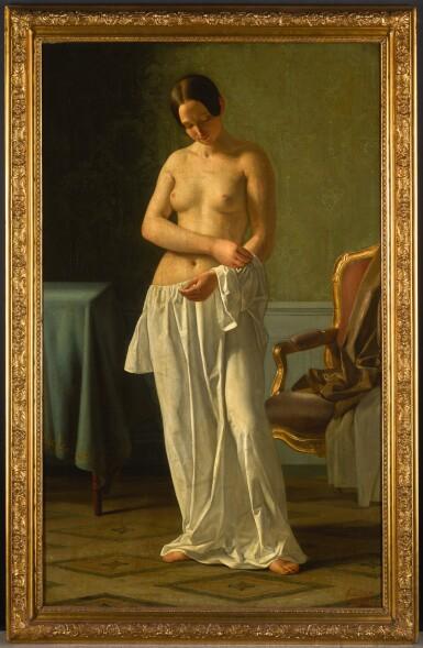 View 2. Thumbnail of Lot 33. JOHAN JULIUS EXNER | The Artist's Model.