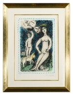MARC CHAGALL | THE BLUE NUDE (M. 1049)