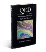FEYNMAN, RICHARD P. | QED. FIRST EDITION, FIRST PRINTING, PRESENTATION COPY. 1985