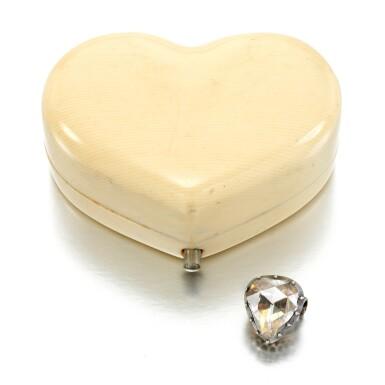 View 3. Thumbnail of Lot 22. Diamond brooch, mid 19th century.