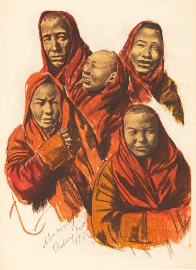 View 1. Thumbnail of Lot 306. Iacovleff | Dessins et Peintures d'Asie, [1934].