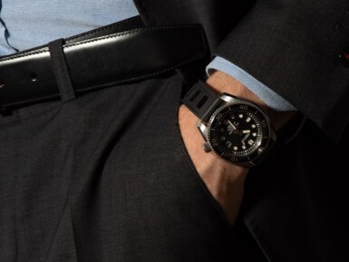 SEIKO | TWO STAINLESS STEEL, TITANIUM AND CERAMIC WRISTWATCHES WITH DATE CIRCA 2014