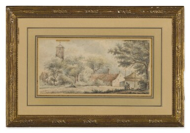View 2. Thumbnail of Lot 588. VINCENT LAURENSZ. VAN DER VINNE I | THE VILLAGE OF LISSE NEAR HAARLEM.