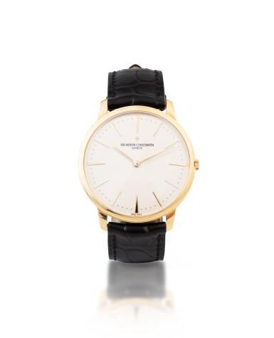 View 1. Thumbnail of Lot 10. Patrimony, Ref. 81180/000J    Montre bracelet en or jaune    Yellow gold wristwatch    Vers 2009    Circa 2009.
