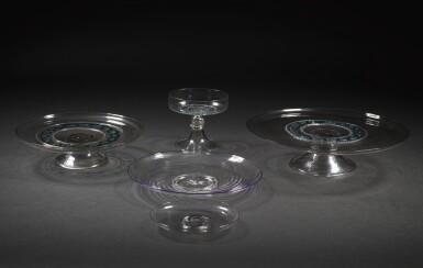 A GROUP OF FAÇON DE VENISE GLASS | 17TH/EARLY 18TH CENTURY