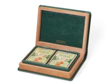 Clark, Set of 55 Pickwick Playing Card designs, [together with two packs of printed cards], [c. 1931]