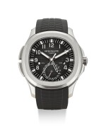 PATEK PHILIPPE | AQUANAUT, REFERENCE 5164, A BRAND NEW STAINLESS STEEL DUAL TIME ZONE WRISTWATCH WITH DATE AND DAY AND NIGHT INDICATION, CIRCA 2012