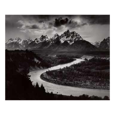 ANSEL ADAMS | 'THE GRAND TETONS AND THE SNAKE RIVER, GRAND TETON NATIONAL PARK, WYOMING'