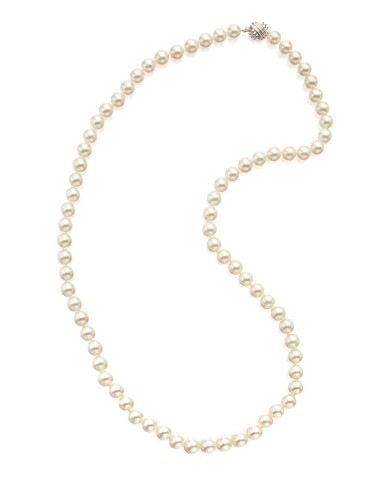 CULTURED PEARL NECKLACE, TIFFANY & CO.