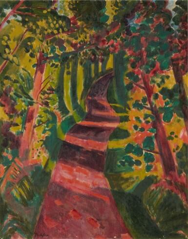 View 1. Thumbnail of Lot 22. Herbstschatten (Autumn shade) .