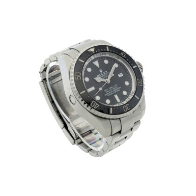 View 3. Thumbnail of Lot 282. REFERENCE 116660 DEEPSEA SEA-DWELLER A STAINLESS STEEL AUTOMATIC WRISTWATCH WITH DATE AND BRACELET, CIRCA 2007.