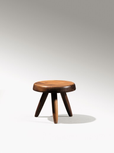 View 1. Thumbnail of Lot 14. Berger stool, designed in 1953.