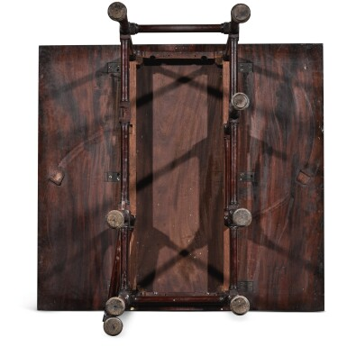 View 6. Thumbnail of Lot 252. A George III mahogany spider-leg table by Thomas Chippendale, 1768.