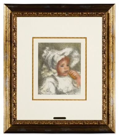 View 2. Thumbnail of Lot 139. L'Enfant au Biscuit (Jean Renoir) (D., S. 31).