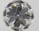 A 3.01 Carat Round Diamond, G Color, VS2 Clarity