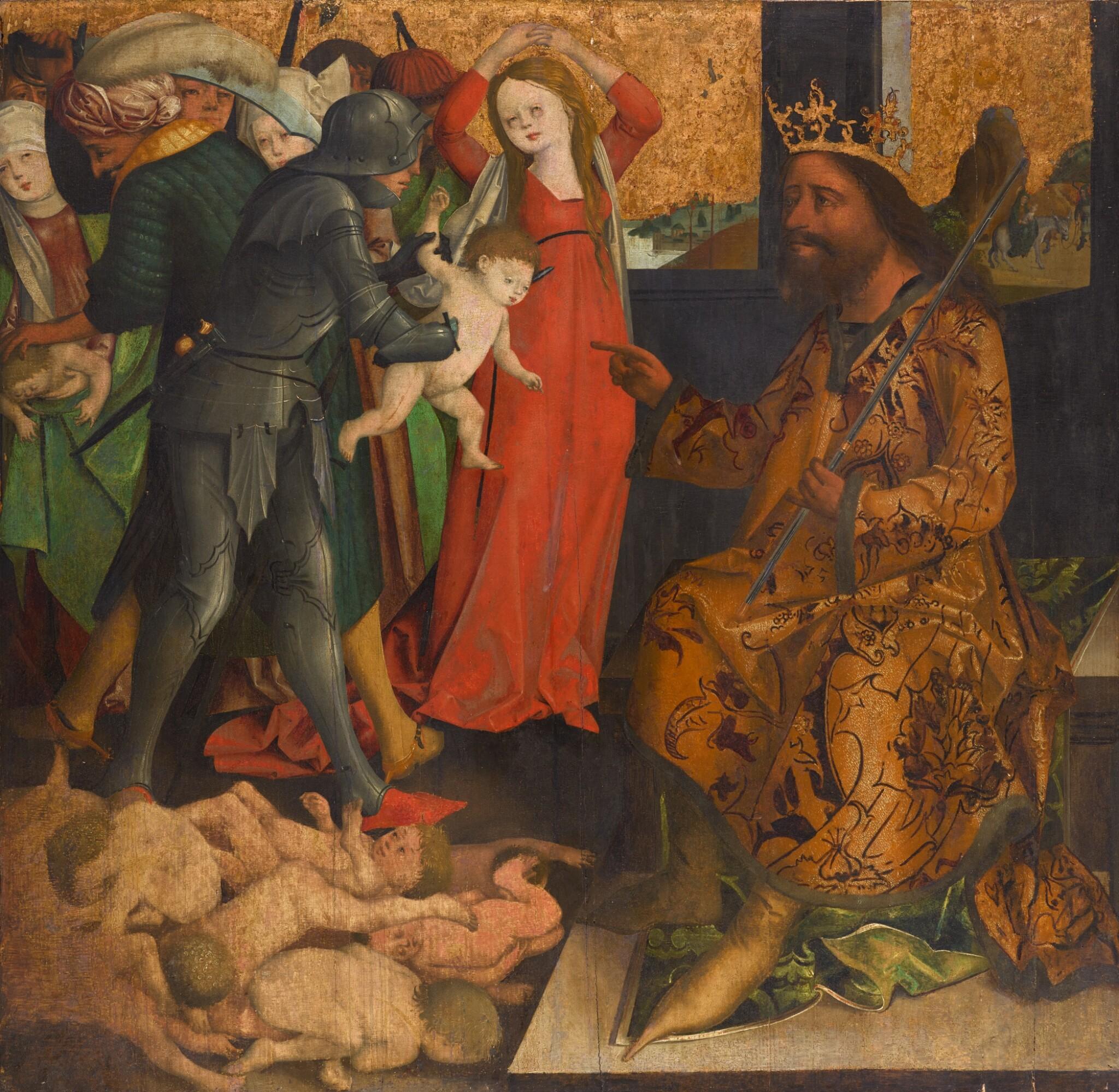 MASTER OF THE KRAINBURG ALTARPIECE | The Massacre of the Innocents