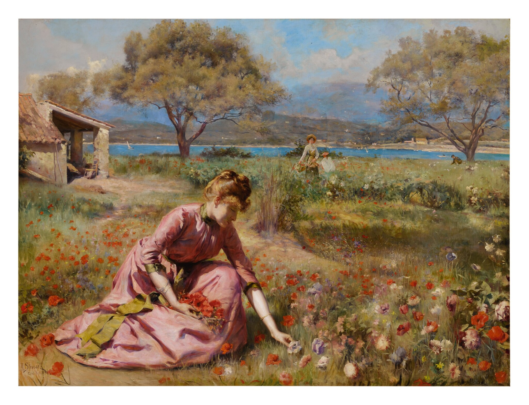 View full screen - View 1 of Lot 2. JULIUS LEBLANC STEWART | THE FIRST SPRING.