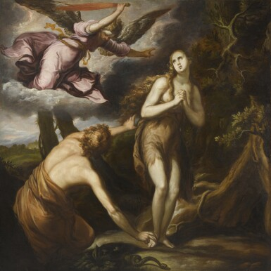 AFTER ABRAHAM BLOEMAERT | The Expulsion of Adam and Eve