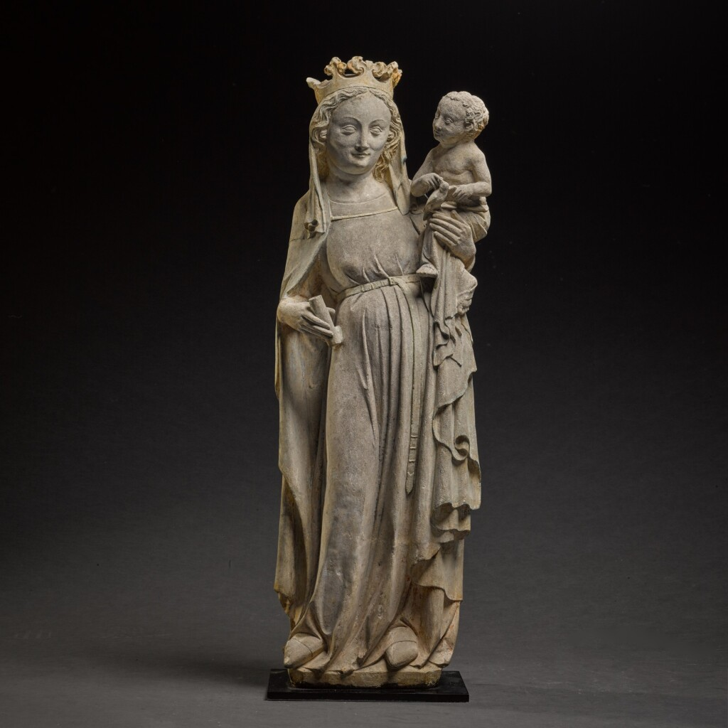 FRENCH, PROBABLY LORRAINE, 14TH CENTURY | VIRGIN AND CHILD