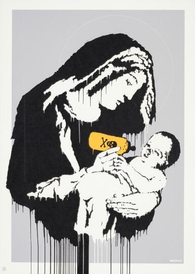 BANKSY   TOXIC MARY