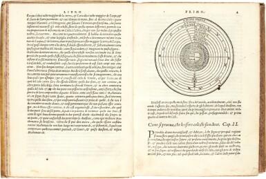 View 2. Thumbnail of Lot 43. Piccolomini   Della sfera del mondo, Venice, 1561, later vellum.