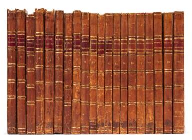 View 3. Thumbnail of Lot 5. Curtis   The Botanical Magazine; or Flower-Garden Displayed, 1790–1788–1805, 20 volumes.
