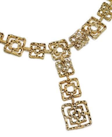 View 1. Thumbnail of Lot 31. LADY'S BELT, 'BYZANTINE', CARTIER, 1970S.