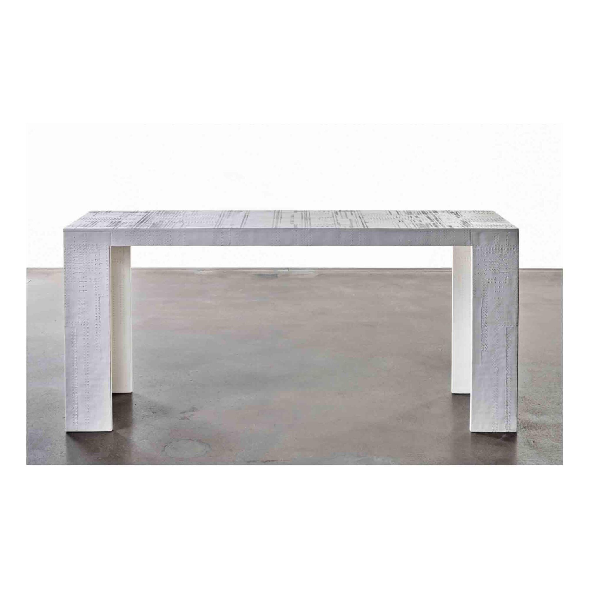 """View full screen - View 1 of Lot 161. """"Mekano"""" Console Table."""