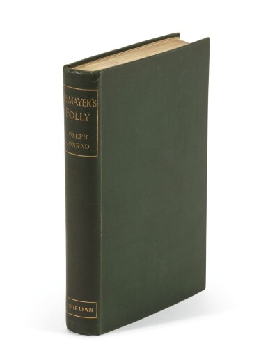 View 2. Thumbnail of Lot 85. Conrad, Almayer's Folly, 1895, signed.