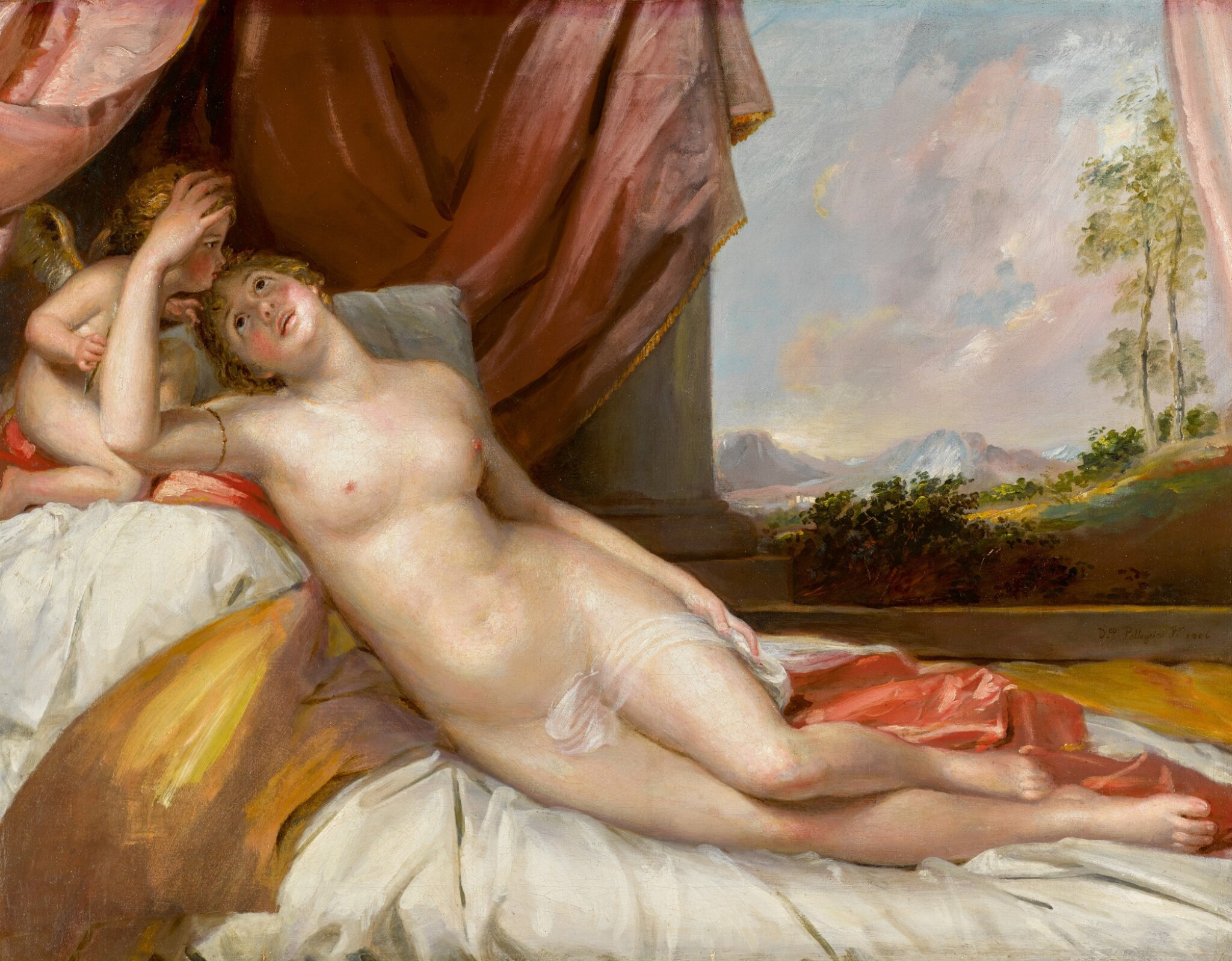 View 1 of Lot 180. Venus and Cupid.
