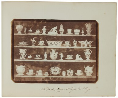 View 8. Thumbnail of Lot 11. William Henry Fox Talbot's Gifts to his Sister: Horatia Gaisford's Collection of Photographs and Ephemera.