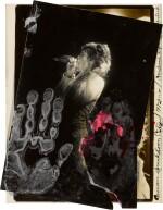 PETER BEARD | 'NERVOUS BREAKDOWN CITY', MICK JAGGER AT MADISON SQUARE GARDEN, 1972