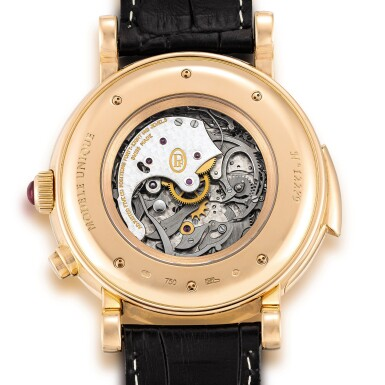 View 3. Thumbnail of Lot 2246. Parmigiani Fleurier | Toric Westminster Grande Date, A unique pink gold tourbillon Carillon Westminster chime minute repeating wristwatch with date, Circa 2020 | Toric Westminster Grande Date  獨一無二粉紅金陀飛輪 Carillon de Westminster 旋律三問腕錶,備日期顯示,約2020年製.