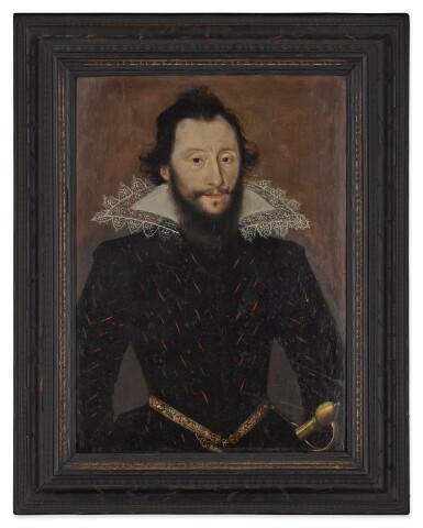 View 3. Thumbnail of Lot 516. Portrait of a Gentleman.