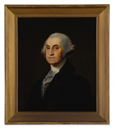 View 2. Thumbnail of Lot 92. Portrait of George Washington.