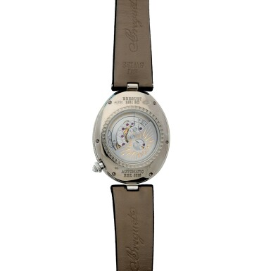 View 6. Thumbnail of Lot 107. Reference 8998 Reine De Naples A white gold and diamond-set automatic oval wristwatch with moon phases and 24-hour indication, Circa 2015.
