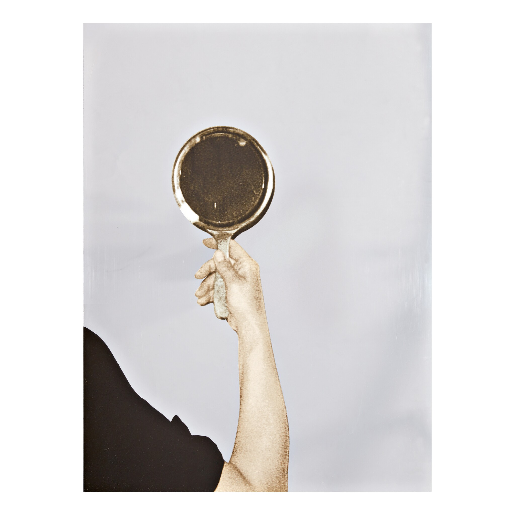 View full screen - View 1 of Lot 250.  MICHELANGELO PISTOLETTO   MIRROR.