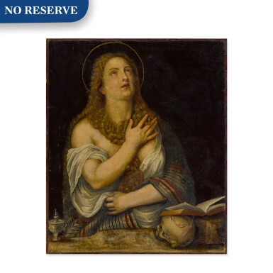View 1. Thumbnail of Lot 15. Penitent Magdalene.
