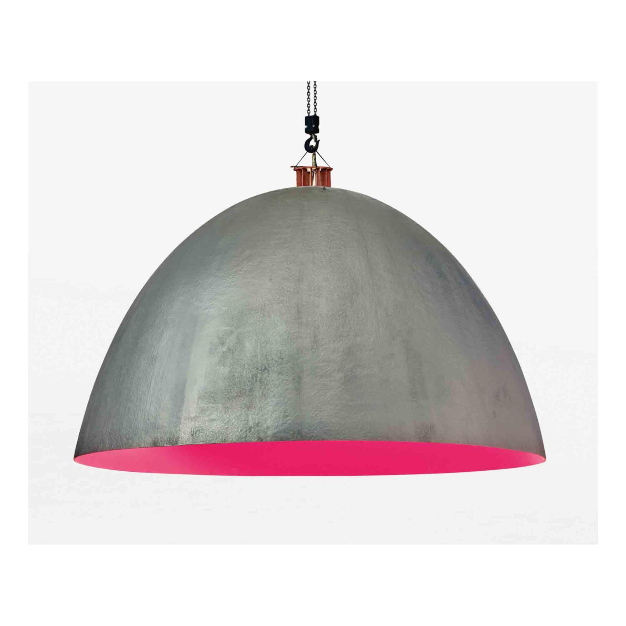 """View full screen - View 1 of Lot 166. """"XXL Dome"""" Hanging Light."""