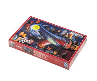 STAR TREK: THE NEXT GENERATION (1993) ORIGINAL ARTWORK AND PUZZLE, US