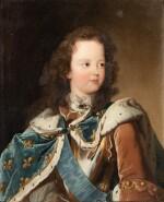 Portrait of Louis XV as a child