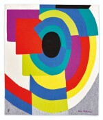 AFTER SONIA DELAUNAY | SYNCOPÉ TAPESTRY  [TAPISSERIE SYNCOPÉ]